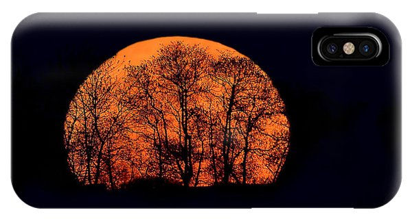 Harvest  Moon Rising IPhone Case