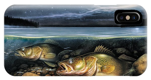 Harvest Moon Walleye 1 IPhone Case
