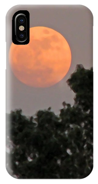 Harvest Moonrise IPhone Case