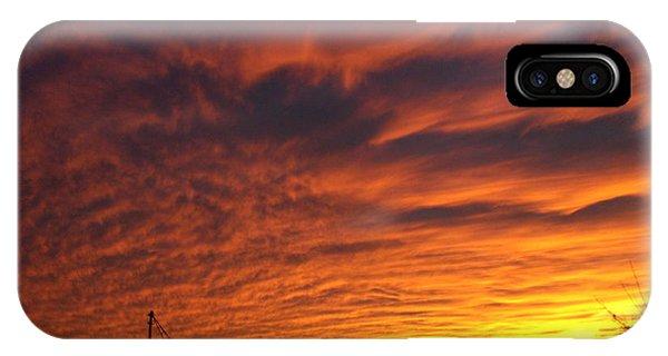 Harvest Sky IPhone Case
