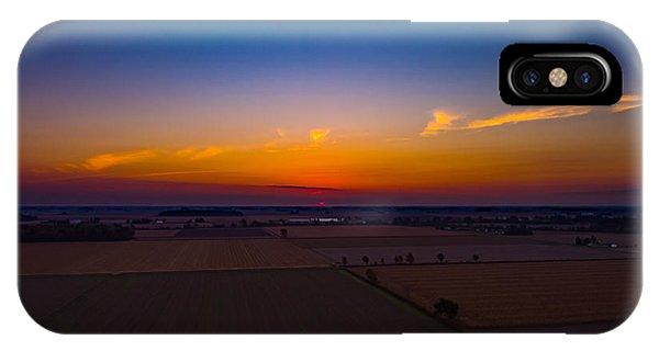 Harvest Sunrise IPhone Case