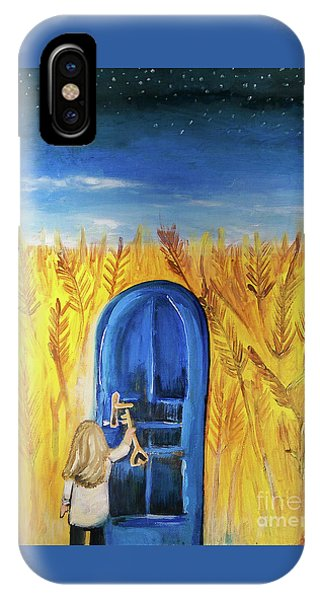 IPhone Case featuring the painting Harvester by Jennifer Page