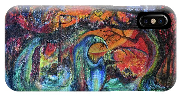 Harvesters Of The Autumnal Swamp IPhone Case