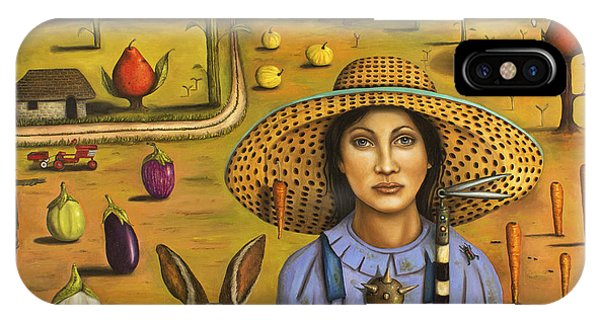 Harvey And The Eccentric Farmer IPhone Case