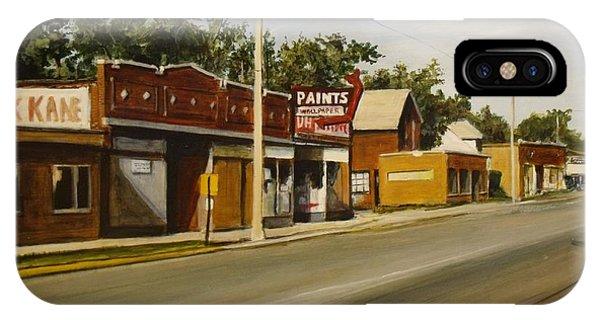 Harvey Paint Store IPhone Case