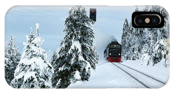 Harz Ballooning And Brocken Railway IPhone Case