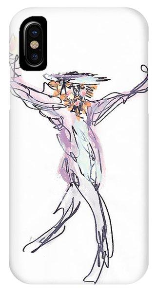 Hasidic Dancer IPhone Case