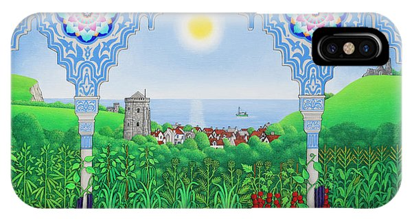 English Village iPhone Case - Hastings Allotments by Larry Smart