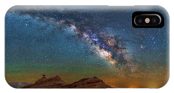 Hat Rock Milky Way IPhone Case