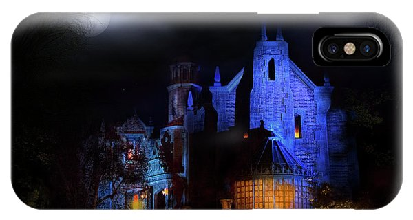 Haunted Mansion At Walt Disney World IPhone Case