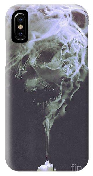 Haunted Smoke  IPhone Case