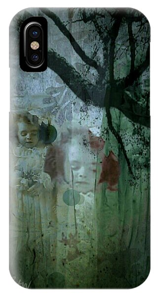 IPhone Case featuring the digital art Haunting by Delight Worthyn