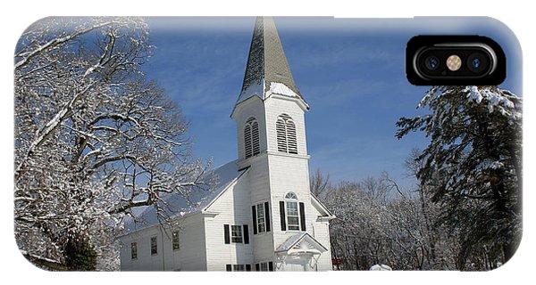 Hauppauge United Methodist Church  IPhone Case