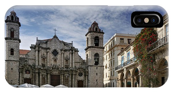 Havana Cathedral. Cuba IPhone Case