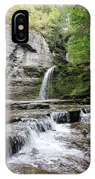 Eagle Cliff Falls II IPhone Case