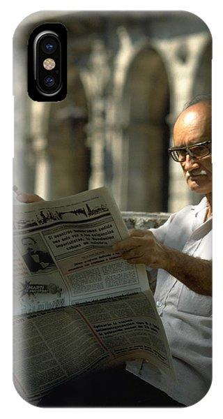 Michel Guntern iPhone Case - Havana by Travel Pics