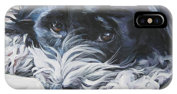 Havanese Black And White IPhone Case