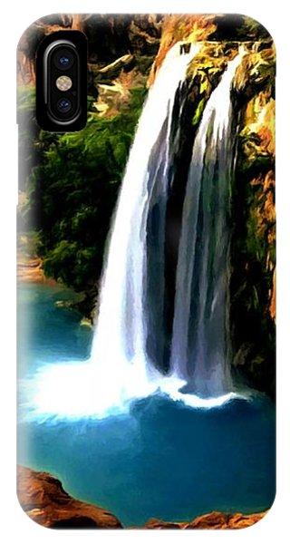 Havasu Waterfall IPhone Case
