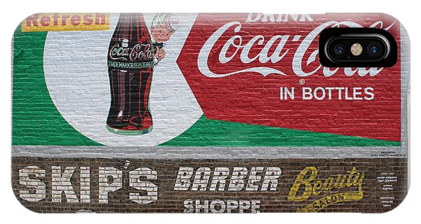 Have A Coca Cola At Skips Barber Shoppe IPhone Case
