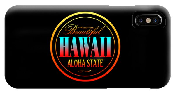 Sports Clothing iPhone Case - Hawaii Aloha State Design by Peter Potter