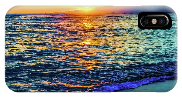 Hawaii Beach Sunset 149 IPhone Case