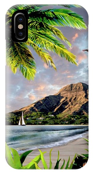 Hawaiian Sunset iPhone Case - Hawaii Sunset by Ron Chambers