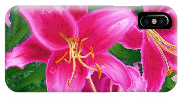 Hawaiian Flowers IPhone Case