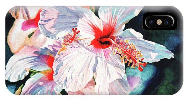 Hibiscus Flower iPhone Case - Hawaiian Hibiscus by David Lloyd Glover