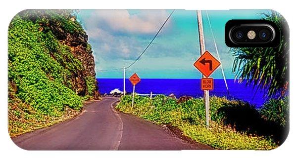 Hawaiian Mountian Road  IPhone Case