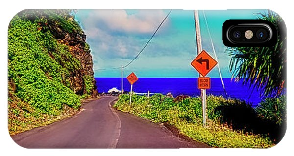 Hawaiian Mountian Road  IPhone Case