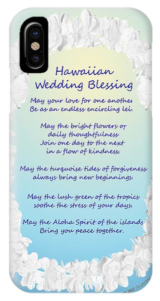 Hawaiian Wedding Blessing IPhone Case