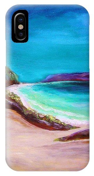 Hawaiin Blue IPhone Case