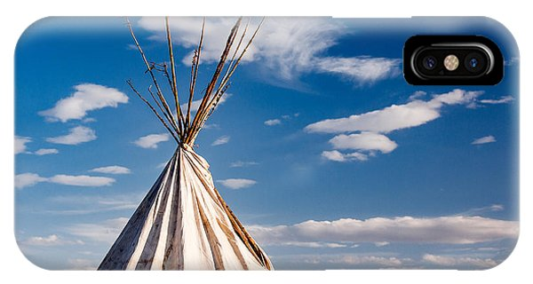 American Indian iPhone Case - Hawi Tipi by Todd Klassy