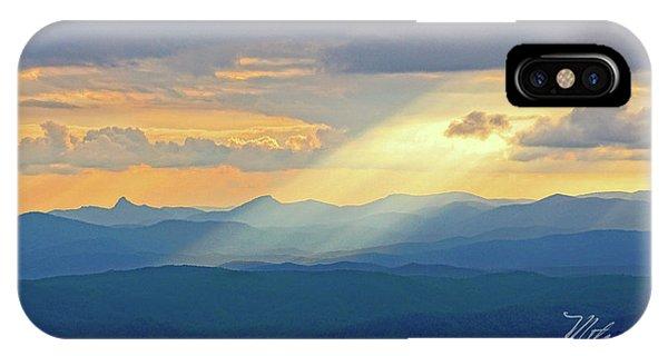 Hawks Bill Mountain Sunset IPhone Case