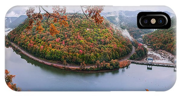 Hawks Nest State Park Autumn Splendor IPhone Case