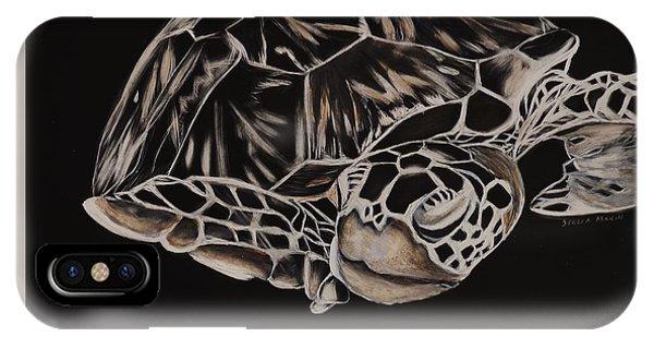 Hawksbill Turtle IPhone Case