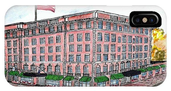 Hawthorne Hotel IPhone Case