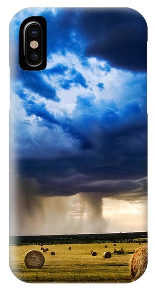 Hay In The Storm IPhone Case