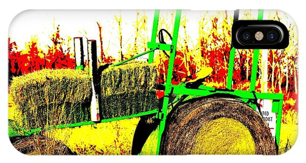 Hay It's A Tractor IPhone Case