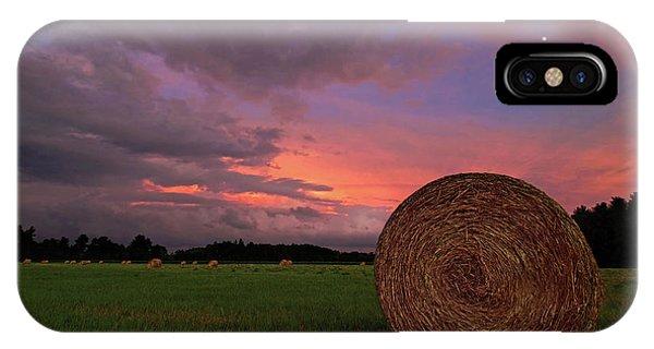 Twilight iPhone Case - Hay Now by Jerry LoFaro