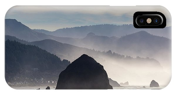 Haystack Rock On The Oregon Coast In Cannon Beach IPhone Case