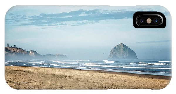 Haystack Rock Pacific City IPhone Case
