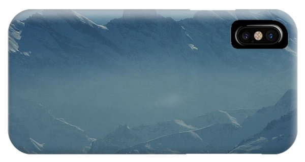 Haze In The Valley IPhone Case