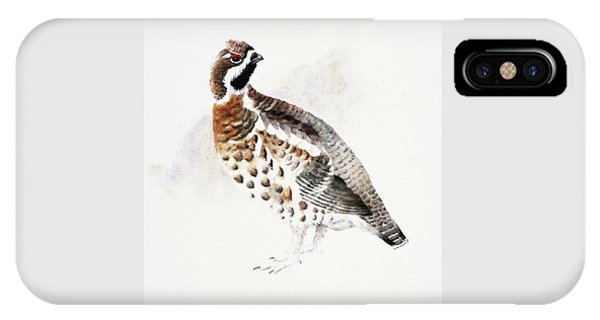 Hazel Grouse IPhone Case