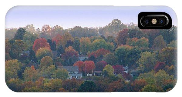 Hazy Autumn IPhone Case