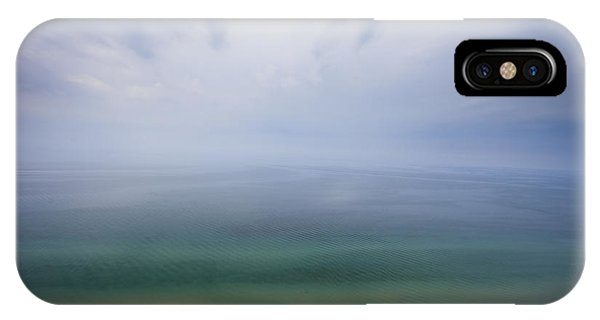 Haven iPhone Case - Hazy Day At Sleeping Bear Dunes by Adam Romanowicz