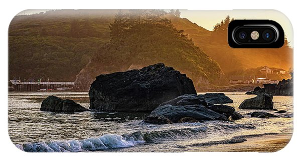 Hazy Golden Hour At Trinidad Harbor IPhone Case