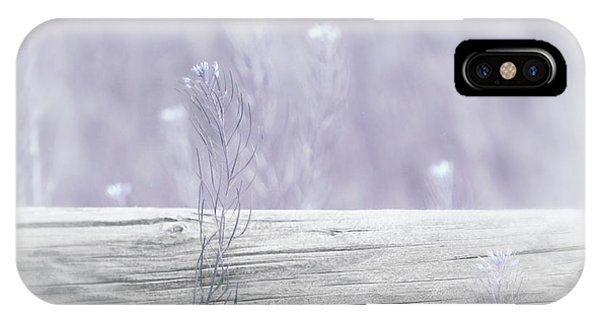 IPhone Case featuring the photograph Hazy Lavender Wildflowers by Jennie Marie Schell