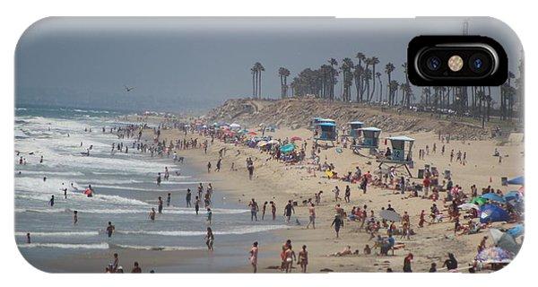 Hazy Lazy Days Of Summer IPhone Case