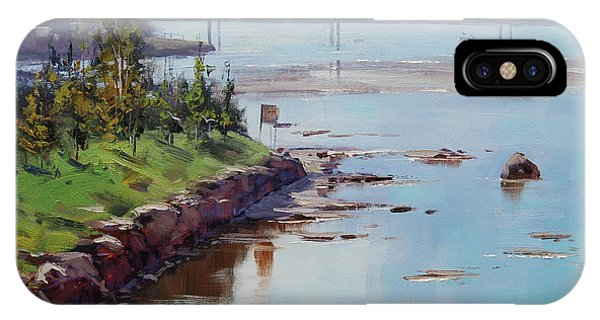 Nature Scene iPhone Case - Hazy Light The Entrance  by Graham Gercken